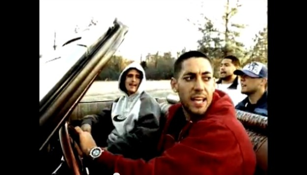 Clint Dempsey in happier times during his rapping stint.