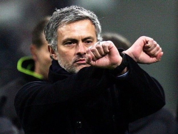 He is a little unorthodox but Mourinho get's the job done. Or does he?