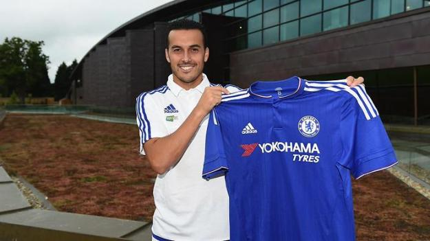 Perdo has joined the blues after seeming certain to join Manchester United.