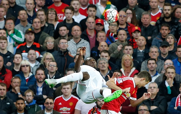 Another view of Benteke's wonder goal.