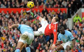 Wayne Rooney Scoring a wonder goal for United