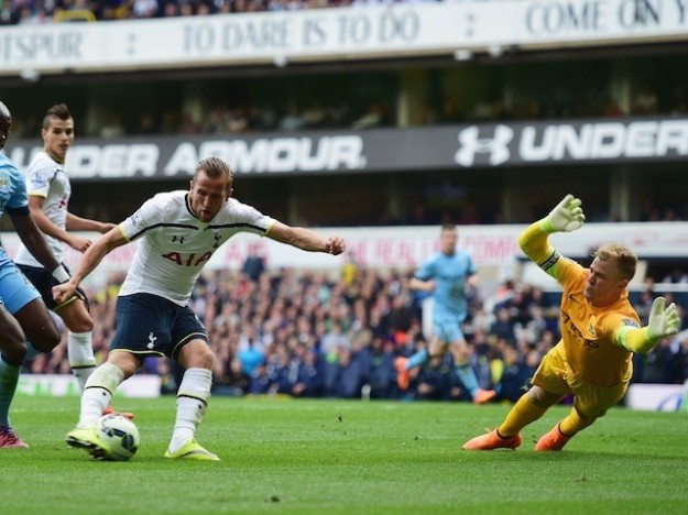 Harry Kane nets his 1st goal this season