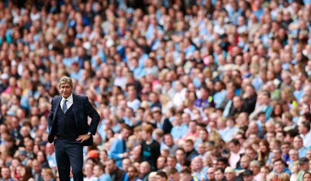 Once a man under pressure, Pellagrini has city unbeaten on top of the table after 4 weeks.