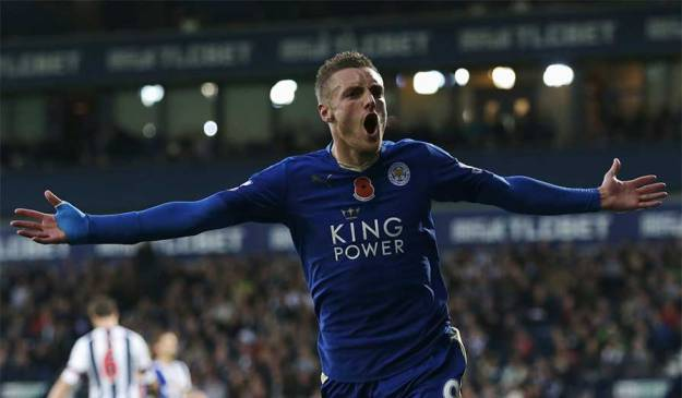 The Vardy party in motion