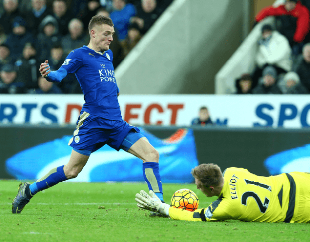 The man of the moment Jamie Vardy