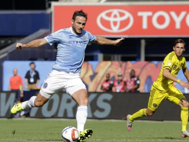 Lampard Who could have easily being playing for Melbourne City FC, instead of New York FC