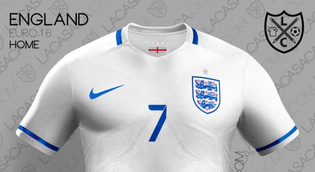 England's Euro 2016 Kit